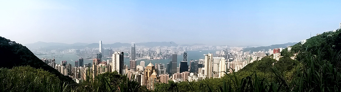Hong Kong SKyline, 2014