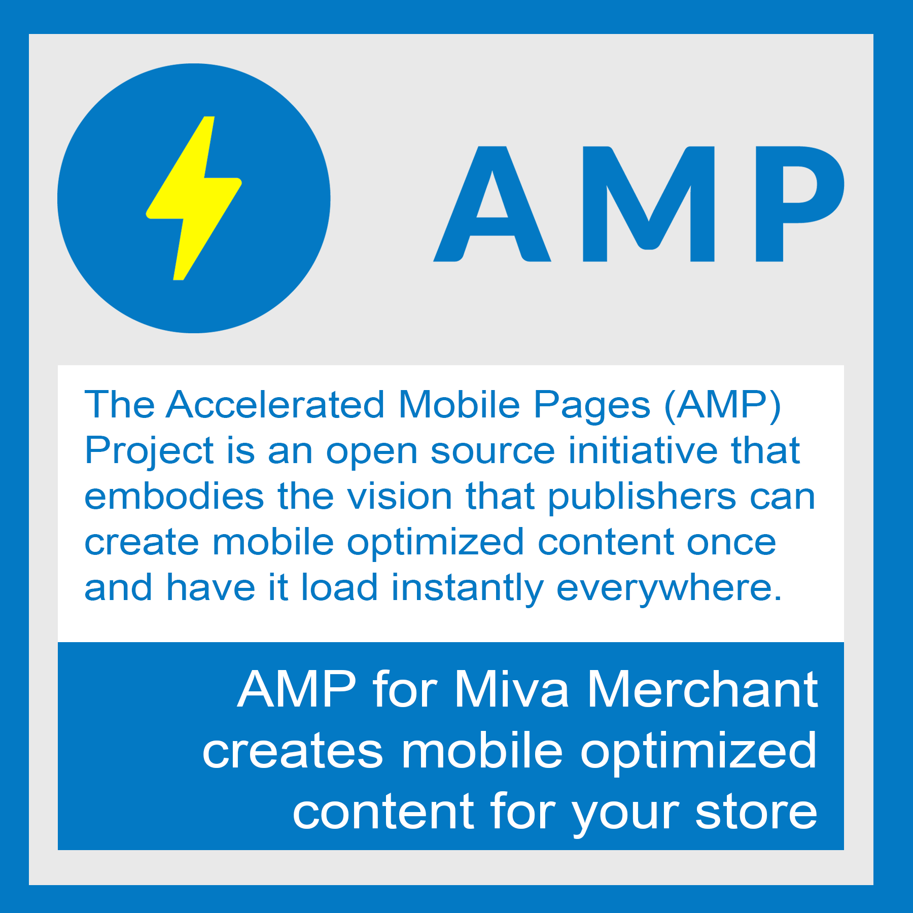 AMP Pages for Miva Merchant